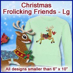 A Christmas Frolicking Friends Design Pack - Lg