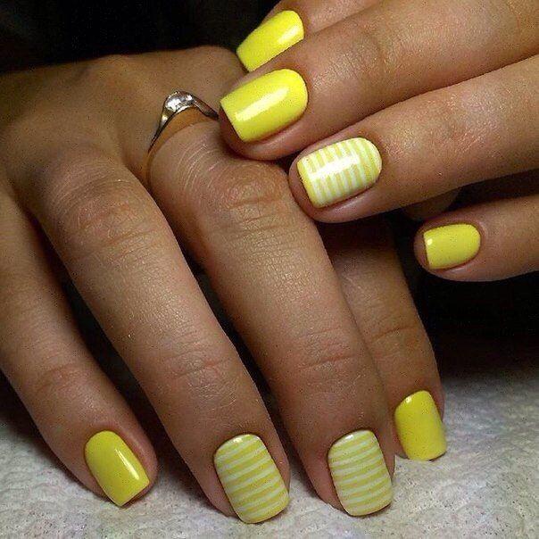 Acid Yellow Nail Polish: Best 25+ Lemon Nails Ideas On Pinterest