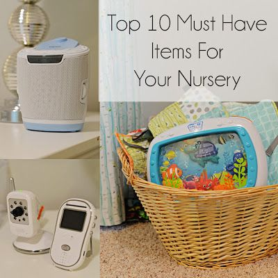 First time moms will appreciate this list of MUST HAVE nursery items. I couldn't live without any of these!