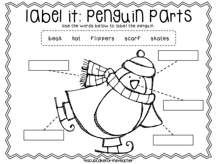preschool worksheets penguin hat preschool best free printable worksheets. Black Bedroom Furniture Sets. Home Design Ideas