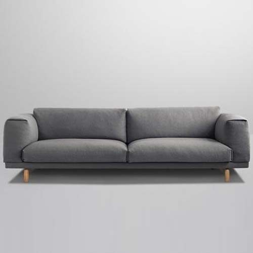 Muuto sofa in Hallingdal 153... someday I will be relaxing on this geougous piece of heaven.
