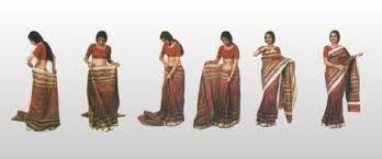 Il #sari è un #tradizionale #indumento femminile #indiano, le cui origini risalgono al 100 a.C., uno dei pochi indumenti ad essere stati tramandati per così tanti secoli. Consiste in una #fascia di #stoffa larga circa un metro. Lo stile più comune di indossare il sari consiste nell'avvolgerlo intorno alla vita, con un capo che gira intorno alla spalla lasciando scoperto la cintola.