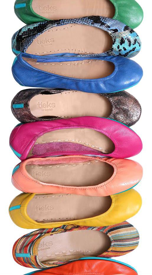 The Ballet Flat, Reinvented. #Tieks  Why yes, I'll take one in every color, 7.5 please!