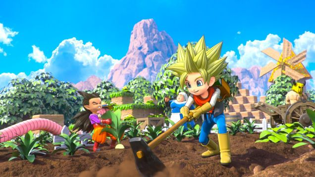 Helping People In Dragon Quest Builders 2 Gives Me So Much Joy Dragon Quest Dragon Dragon Warrior