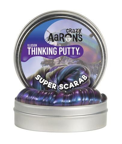 "SUPER SCARAB 4"" - CRAZY AARON'S THINKING PUTTY"