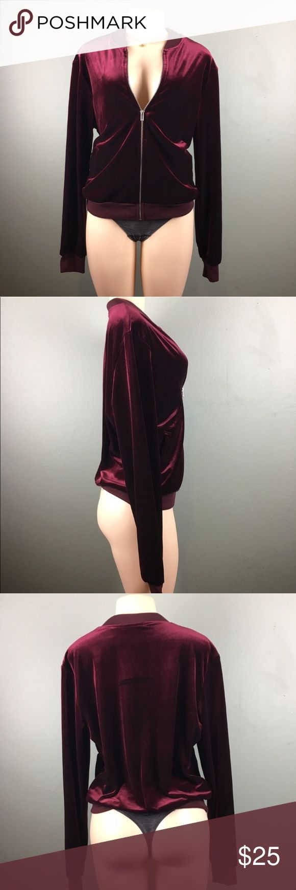 American Apparel ~ Velvet Amelia Jacket Condition :: Great !!! New !! Never Worn !!   Brand 🛍 :: American Apparel   Size :: L ; Large   Original Price :: $88 American Apparel Jackets & Coats