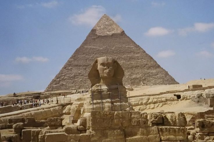 La Gran Pirámide de Guiza, Egipto