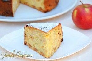 Prajitura cu mere (reteta video) - Culinar.ro