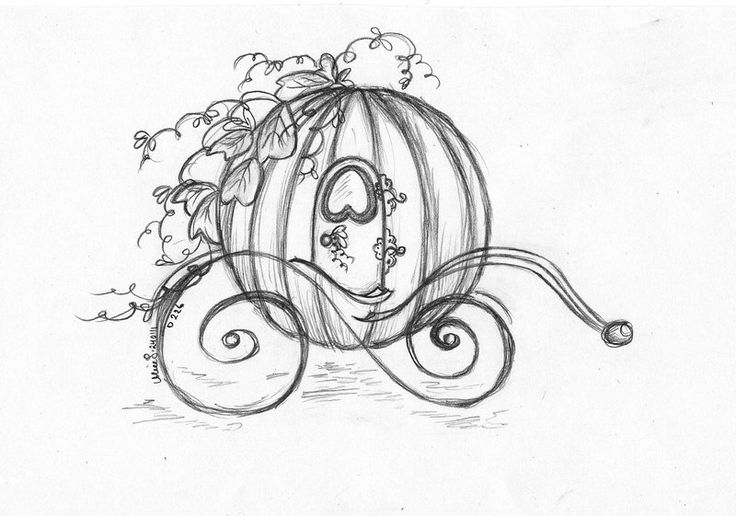 Cinderella Horse And Carriage | Day 226 - Cinderellas carriage by ~Bumblebee04 on deviantART