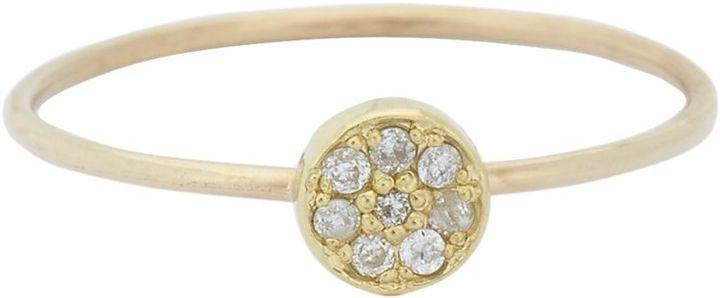 Jennifer Meyer Circle Ring-Colorless