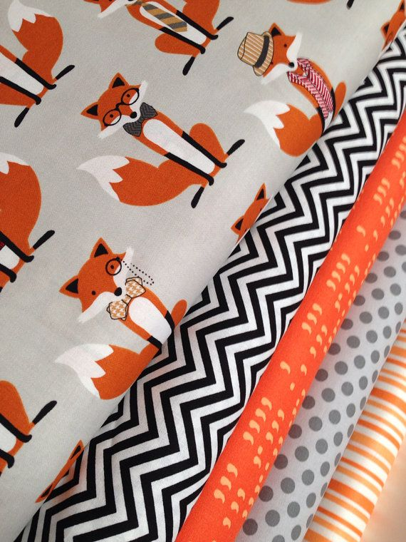 Fox Fabric Bundle By Andie Hanna By Fabricshoppe 48 00