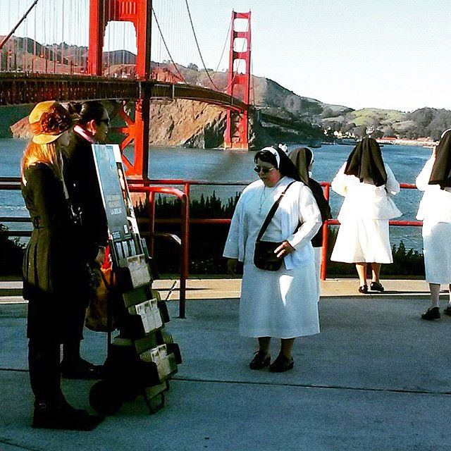 Public witnessing in San Francisco! I've been there and took a picture with them!!