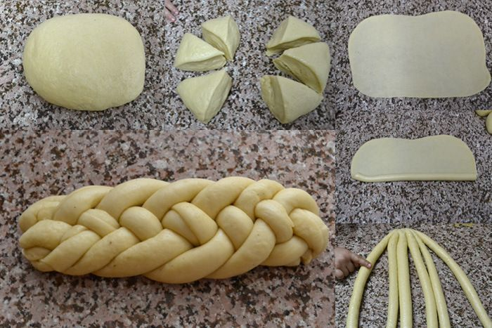 Twisted daring bakers challenge..Braided bread