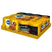 Pedigree Homestyle Meals Prime Rib/Roasted Chicken, Rice and Vegetable Flavor in Gravy Canned Dog Food, 12 ct, 13.2 oz