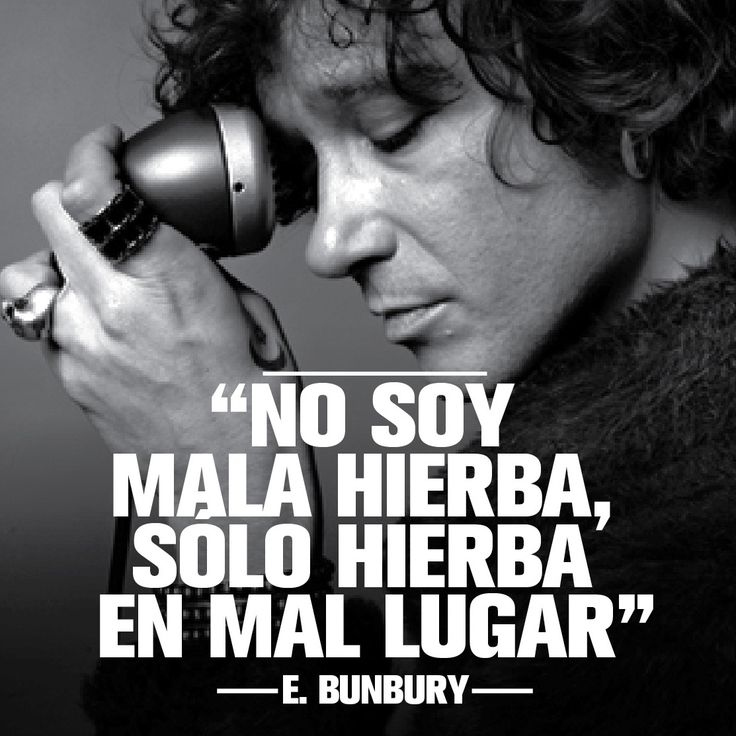 Enrique Bunbury gran compositor