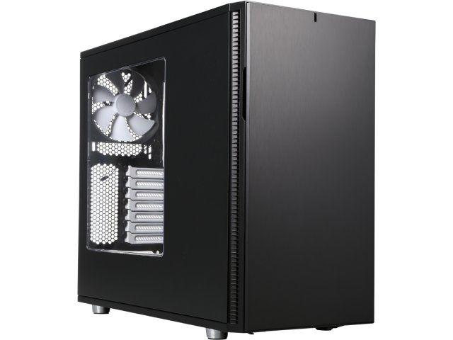 Fractal Design Define R5 Black Window ATX Midtower Silent PC Computer Case