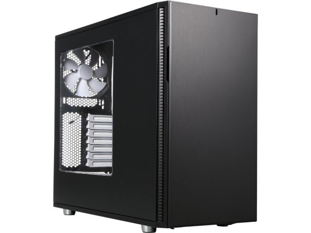 Fractal Design Define R5 Black Window ATX Midtower Silent PC Computer Case