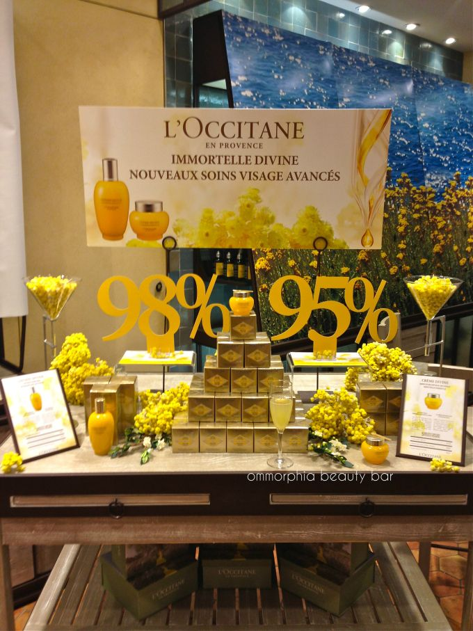 L'Occitane event table