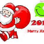 Merry Christmas 2015 Santa Claus WhatsApp D.P Wallpapers & Images