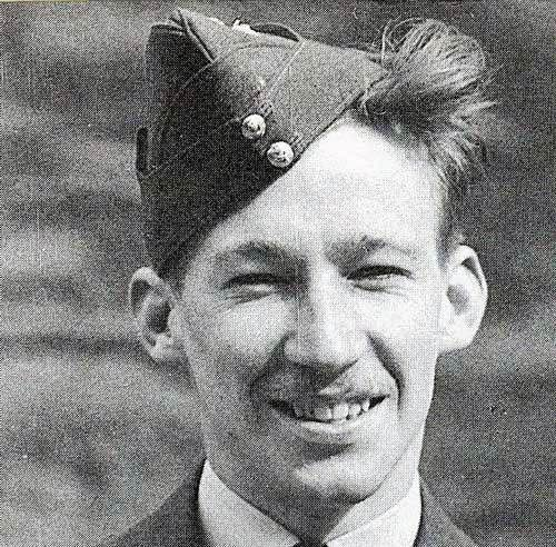 """Leading Yellow Section of No 43 Squadron RAF at 12.55 on 16 August 1940, P/O Charles A """"Tony"""" Woods-Scawen claimed 2 Ju 87 bombers near Selsey Bill destined to raid RAF Tangmere. Damaged in the engine by enemy fighters off the Sussex coast, Hurricane Mk I FT-K dove away towards the Isle of Wight, where the 22-year-old pilot bellied near Horsebridge Hill, Parkhurst, losing 3 teeth when his face slammed against the gunsight. He made the ferry for Southampton and spent the night at a hotel."""
