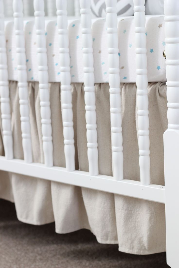 DIY ruffled crib skirt                                                                                                                                                                                 More