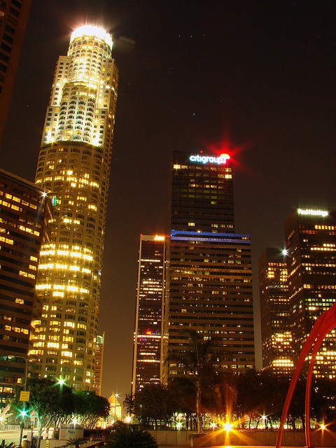 Los Angeles: US Bank Tower, Aon Center, and Citigroup Center