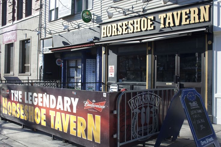 The legendary Horseshoe Tavern in Toronto. It turns 65 years old this December 9, 2012!