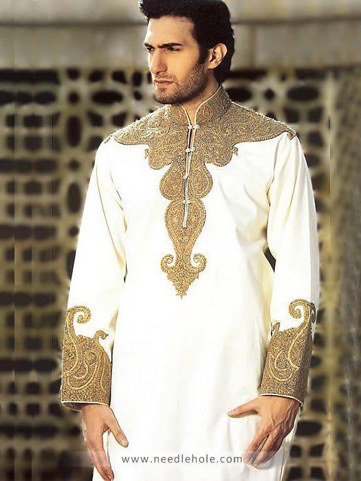 Pakistani Designer Salwar Kameez for Men, Menswear Salwar Kurta Suits