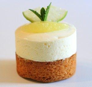 Sablés bretons crème au citron