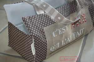 Porte gateau - Bag for cake