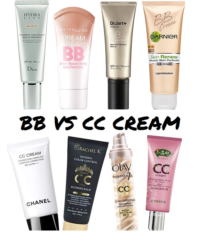 BB Creams Vs CC Creams: Should I use BB or CC cream?