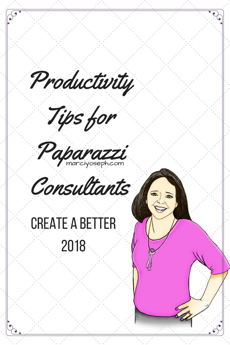 Running a small business requires organization and juggling many hats. Use these productivity tips for Paparazzi consultants in 2018.