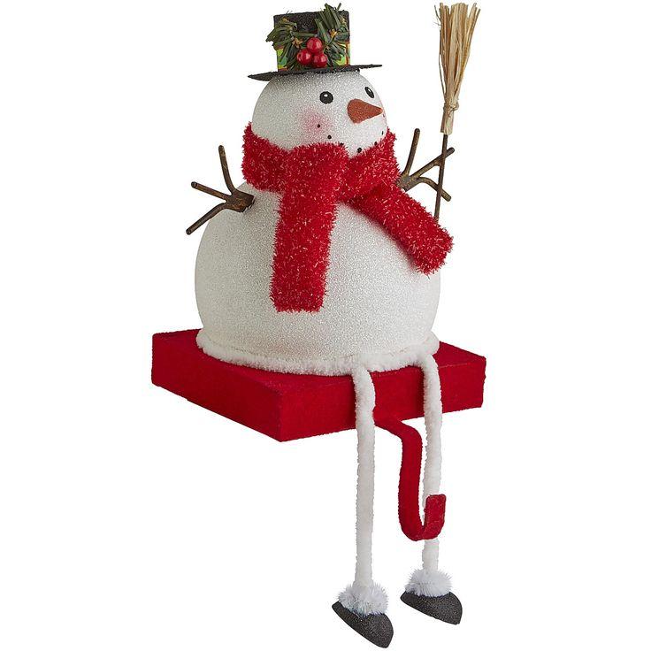 Cocksucker snowman christmas stocking holder sceen from