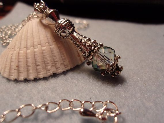 Gorgeous Jeannie in a Bottle Pendant with by ItIsSoShabbyChic