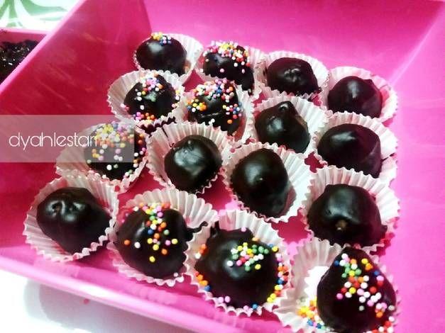 Resep Bola Coklat Simpel Oleh Dyah Lestari Resep Coklat Resep Biskuit