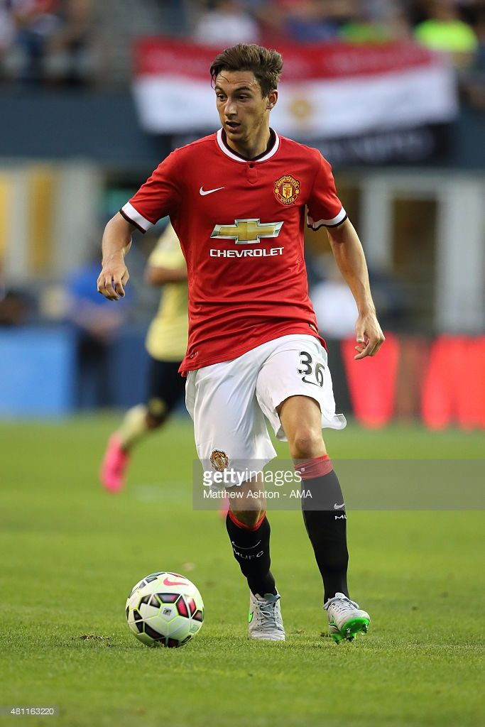 Matteo Darmian of Manchester United during the International Champions Cup 2015 match between Club America and Manchester United  at CenturyLink Field on July 17, 2015 in Seattle, Washington.  (Photo by Matthew Ashton - AMA/Getty Images)