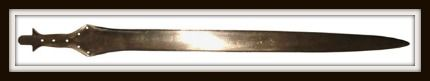 The Philistine Naue Type II Sword was the deadliest of its kind in the Ancient Near East