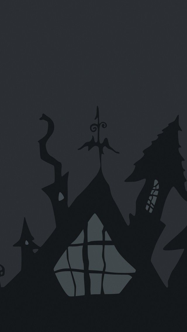 Halloween Gray Illustration Wallpaper Hd 4k For Mobile Android Iphone Check More At Https Phonewallp C Halloween Wallpaper Hd Wallpaper Iphone Dark Wallpaper