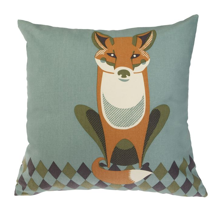 Wildlife cushion £20.00.