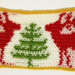 Christmas tablecloth - crochet