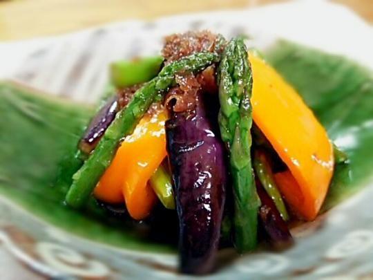 夏野菜の土佐酢づけ