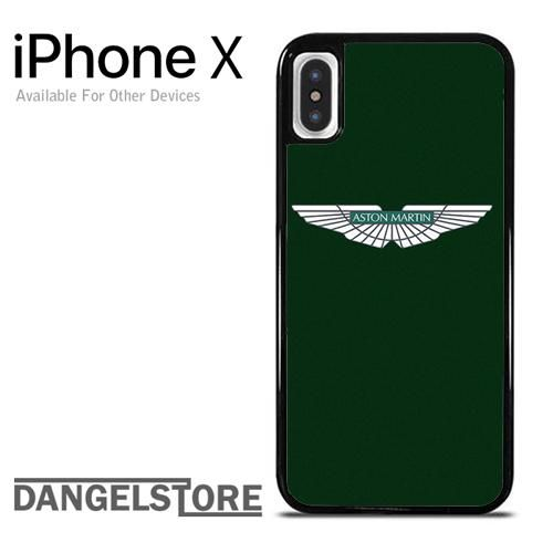 reputable site cf1d8 70f7a Green Aston Martin Logo For iPhone X | Automotive Phone Case ...