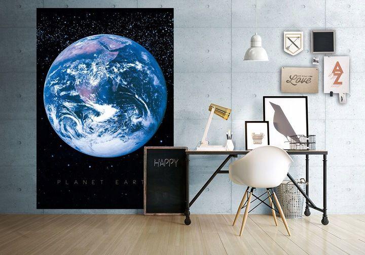 Planeta Ziemia Kosmos Fototapeta 232x158 Cm 7470306951 Oficjalne Archiwum Allegro Planets Globe