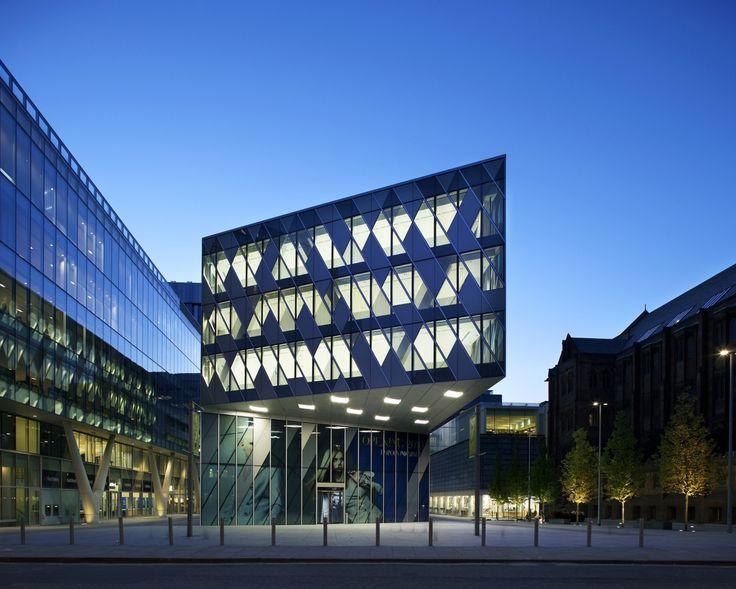 Cool facade. Cool Dusk & Glass.