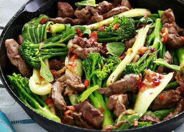 One Pot Teriyaki Lamb Stir Fry – A Sneak Peek Recipe from June's 28 Day Weight Loss Challenge