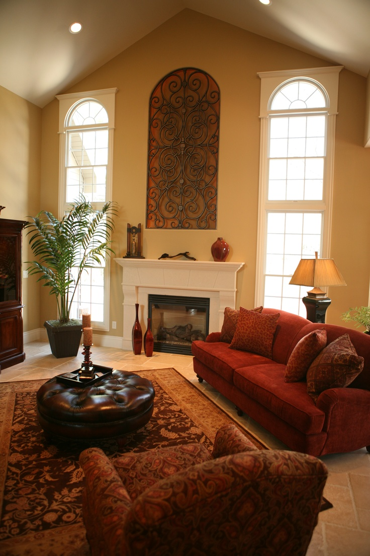 Great Room With Fireplace Living Room Pinterest