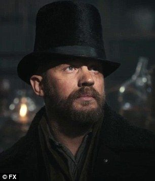 Tom Hardy faces danger on all sides as he makes dramatic return home after spell as naked savage in Taboo trailer | Daily Mail Online
