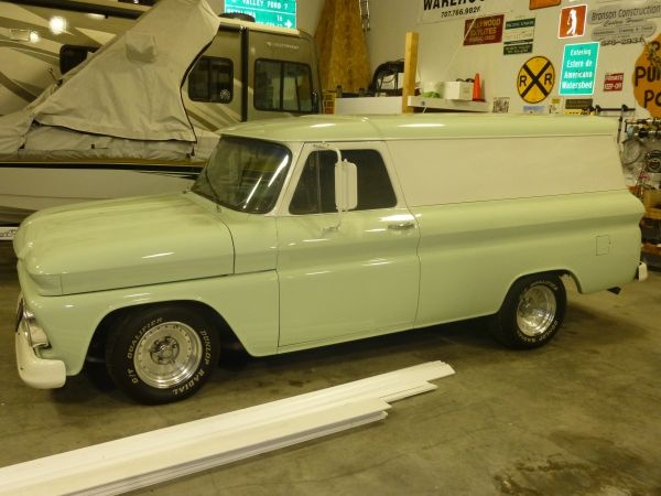 Chevy 1966 Panel truck Maintenance/restoration of old ...