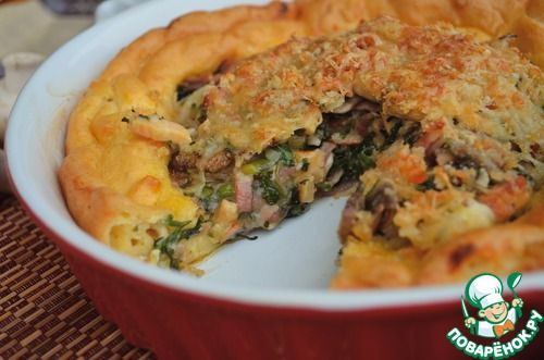 Пирог «Гужер» - кулинарный рецепт