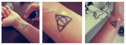 DIY temporary tattoos! SO COOL